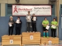 12. Doppel- und Mixedturnier Siegerehrungen