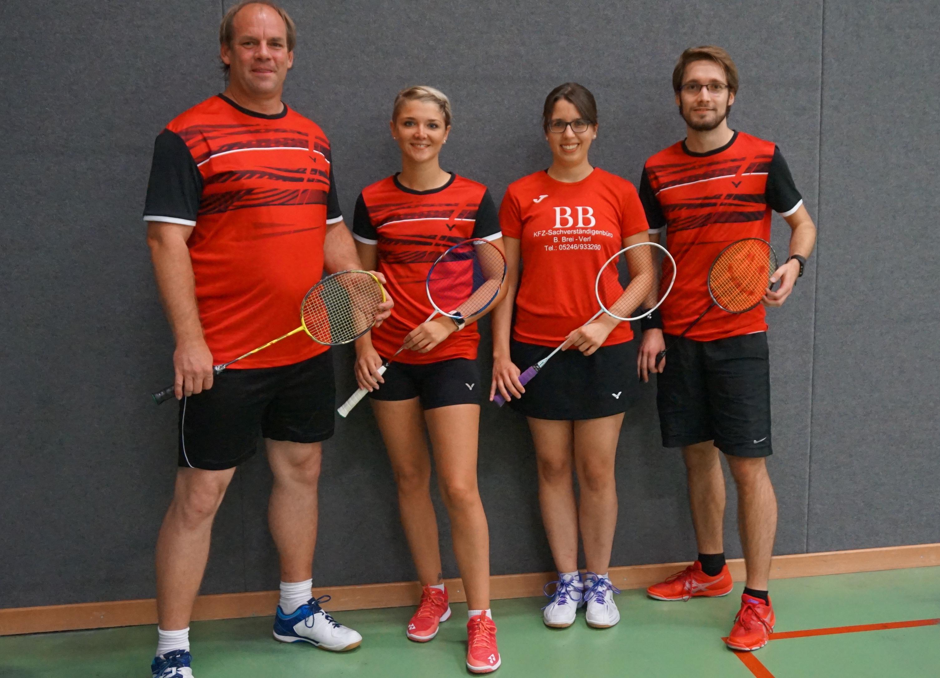 Saison 2019/2020 | TV Verl Badminton